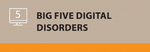 Big Five digital disorders